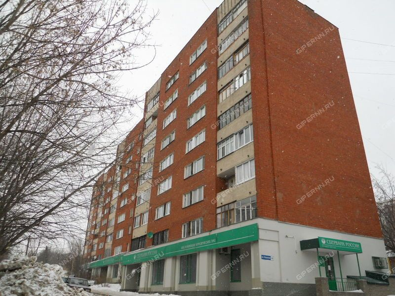 двухкомнатная квартира на улице Ошарская дом 88