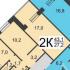 двухкомнатная квартира на улице Коминтерна дом 20