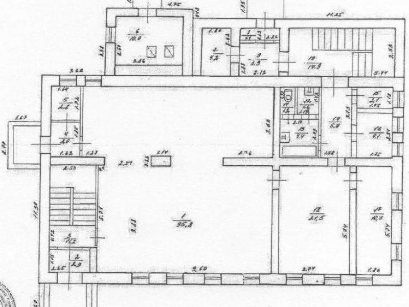 здание под офис, торговую площадь, недвижимость под гостиничный бизнес, недвижимость под общепит на Вокзальной улице