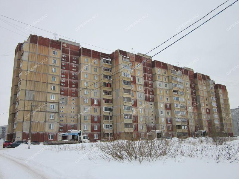 трёхкомнатная квартира на улице Космическая дом 55