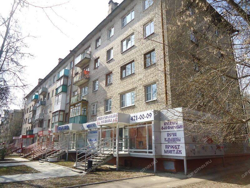 двухкомнатная квартира на улице Ванеева дом 19