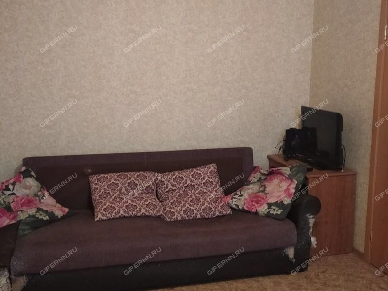 однокомнатная квартира на Олимпийском проспекте дом 16 город Нижний Новгород