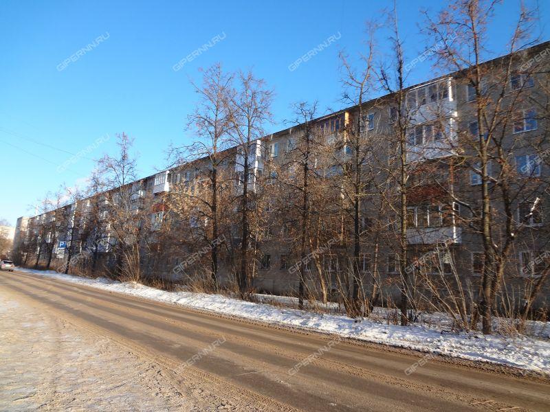 двухкомнатная квартира на проспекте Циолковского дом 53А город Дзержинск