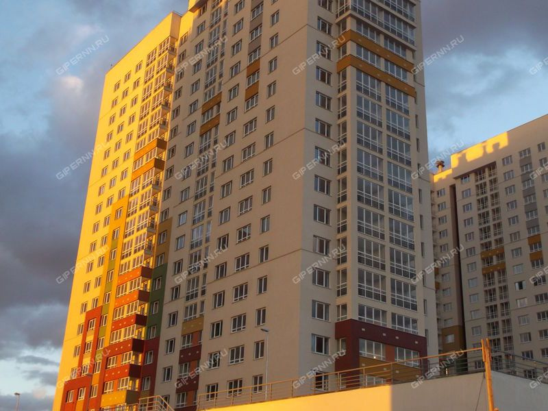 двухкомнатная квартира на улице Академика Сахарова дом 109